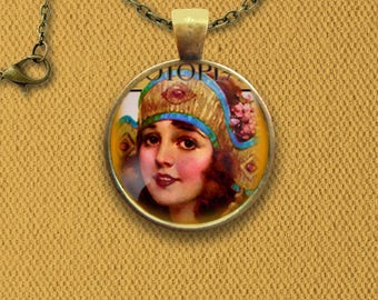 Photoplay American Film Fan Magazine Cover Pin, Magnet, Keychain, or Necklace