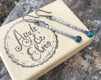 Turquoise Illuminate Earrings