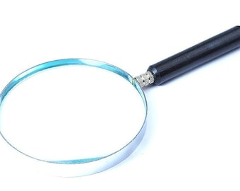"Proops Magnifying Glass 5"" Lens with 3 x Magnification. (V5093) Free UK Postage"