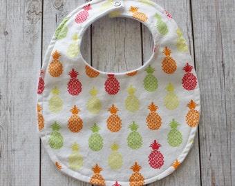 Pineapple Baby Bib, Drool Bib