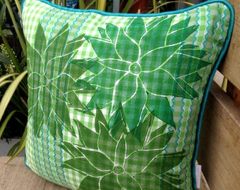 Three Succulents Cushion