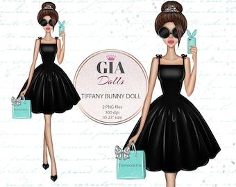 Tiffany clipart, breakfast at tiffany's clipart, fashion clipart,fashion dolls, png, giadolls