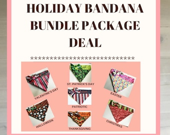 Special Holiday Bandana Bundle Package