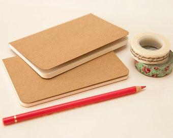 Small notebook DIY wedding favor/party favor (10 pcs)