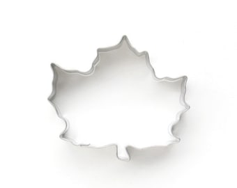 Maple Leaf Cookie Cutter, Fall Leaf Cookie Cutter, Thanksgiving Cookie Cutter