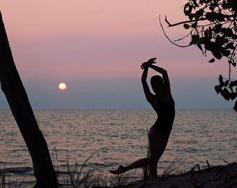 Dance Print - 'Lake Ontario'
