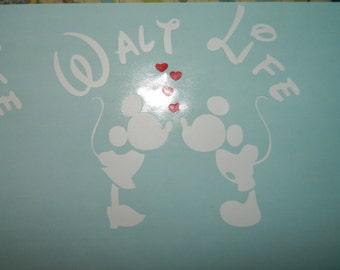 Walt Life decal