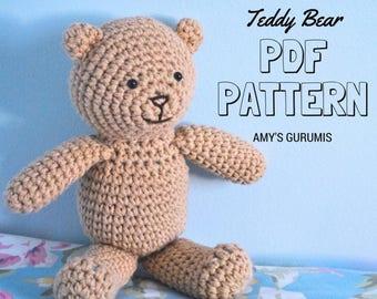 Amigurumi Pattern Teddy Bear