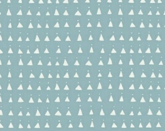 extra15 30% OFF Whisper by Victoria Johnson for Windham Fabrics Blue Triangles