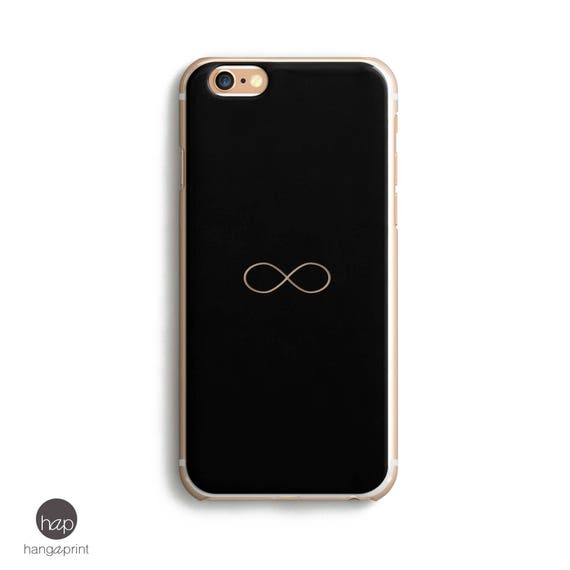 6s Iphone Case Black Iphone 6 Case Infinity Symbol Black
