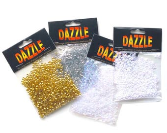 Dazzle Tiny Cupped Sequins 3mm - 1600 pcs