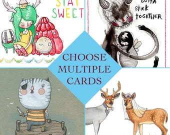 Multiple Card DISCOUNT - Choose Quantity