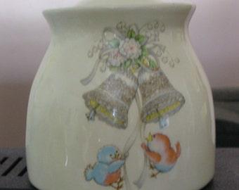 Ivory Keepsake Jar
