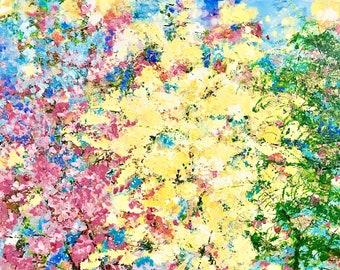 Sky Trees 22x36