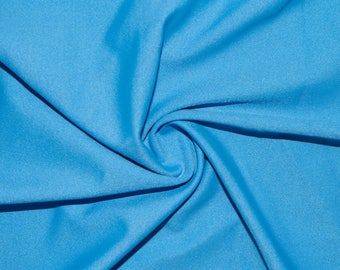 """Periwinkle #28 Swimwear Activewear 4 Way Stretch Nylon Spandex Lycra Solid Apparel Cosplay Craft Fabric 56""""-58"""" Wide By The Yard"""