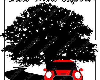 Stickers- Chico Mini Coopers