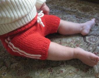 Hand Knit Soaker - 12-18 Months