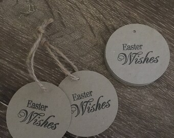 8 x Easter Wishes Gift Tags