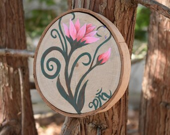 Tree Stump Painting