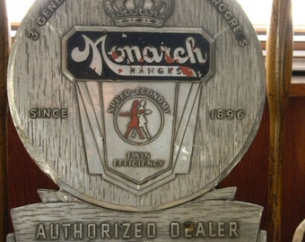 Vintage Monarch Ranges Sign