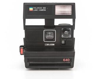 Polaroid 640 Land Camera - Tested and Working - Polaroid 600 Instant Film Camera - Uses Polaroid Originals Instant Film
