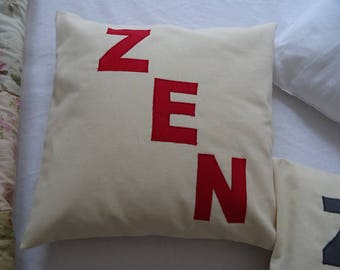 Cushion cover 40 X 40 Ecru ZEN application