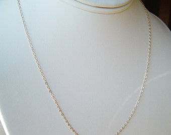 Fine Gold Chain Necklace . 14K Gold fill .15, 16, 17, 18, 20, 22, 24, 30 inch,  Long Layering, Long Gold Chain, Chain Necklace, Best Seller