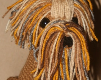 Crochet Stuffed Yorkie