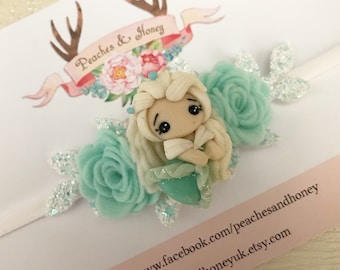 Snow queen flower crown Frozen