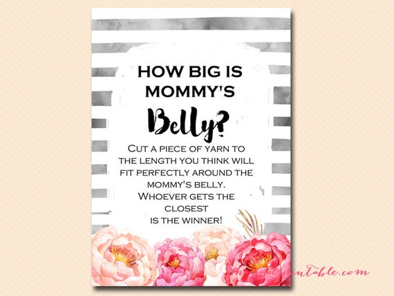 Lively image inside guess mommy's tummy size printable