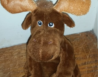 Collectable Maine Moose, Sits By Itself, Wild Life Moose