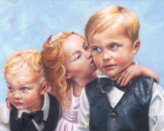 The Kiss Giclee