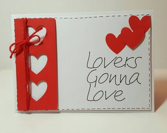 Lovers gonna love Card