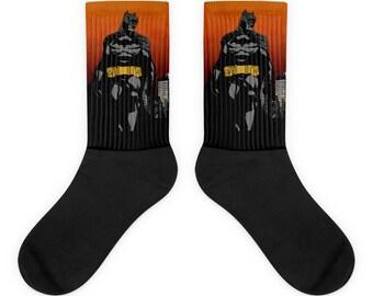 Batman Over Gotham Socks