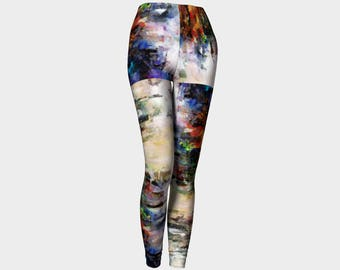 Leggings Yoga Leggings Colorful Clothing Unisex Fashion Urban Clothes Art Dance Cycling Festival Clothes Stretchy Pants Teen Girls Canadian