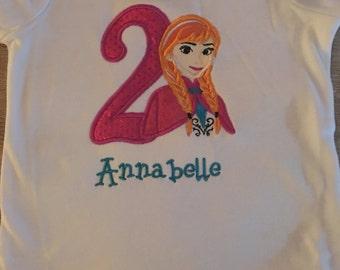 Frozen Anna Birthday shirt!