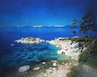 Print:  Lake Tahoe Blue