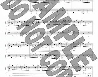 Sonatina in A Minor sheet music