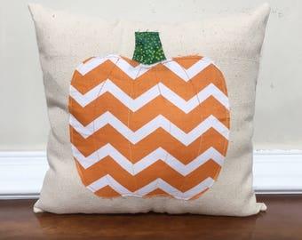 Autumn pillow, pumpkin pillow, Fall pillow