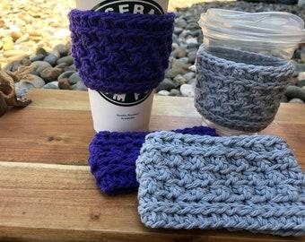Wolf Creek cup cozy Pattern , cup cozy Pattern , PDF Pattern