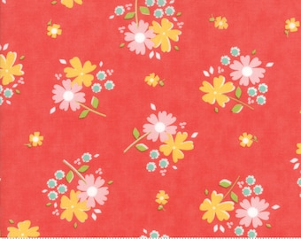 Flower Mill Poppy Floret Yardage  SKU# 29031-16  Flower Mill by Corey Yoder for Moda Fabrics