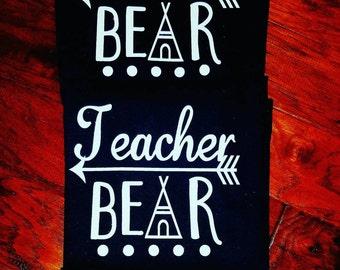 Teacher Bear shirt