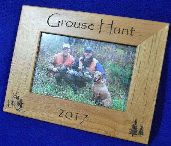 Hunting Frames Grouse Hunting Frame Hunting Gift Gift