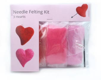 Make Your Own Hearts Kit - makes 3.