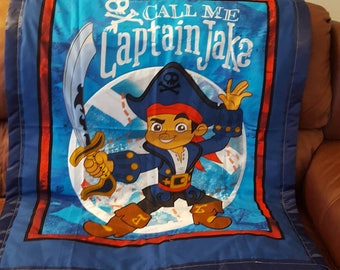 Jake and the Neverland baby/toddler blanket