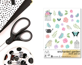 Enchanted Garden - ADD-ON Deco Sticker