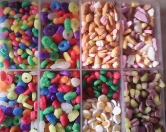 1 packet MINIATURE CANDY SWEETS doll 10 types to choose