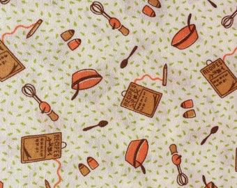 Clothesline Club Home Sweet Home kitchen green Darlene Zimmerman fabric FQ or more