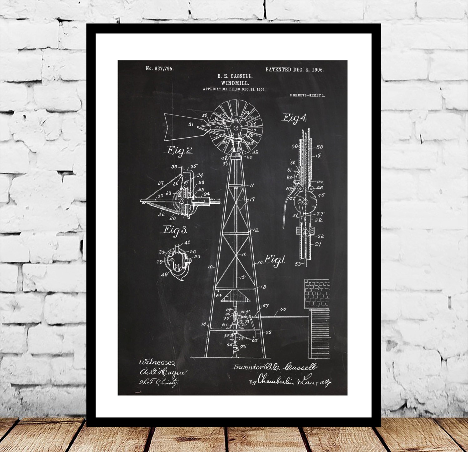 Windmill patent windmill poster windmill blueprint windmill print windmill patent windmill poster windmill blueprint windmill print windmill art windmill decor malvernweather