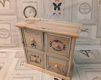 Dresser drawer dresser for jewelry, odds and ends or other storage